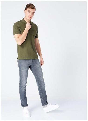 Fabrika Comfort Fabrika Comfort Haki Erkek Cepli Polo T-Shirt Haki